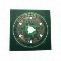 Buy cheap 10-layer PCB with FR4 Base Material TG and Immersion Gold Surface Finish from wholesalers