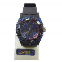 Wholesale Black Silicon Band Analog Digital Sport Stopwatch , Waterproof Watches from china suppliers
