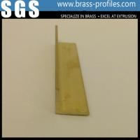 Wholesale Durable Solid Brass L Edge Trim Sheet Copper L Bar Manufacturer from china suppliers