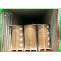 Wholesale 160g + 10 PE Brown Greaseproof Paper Roll Grade AAA OEM / ODM Acceptable from china suppliers