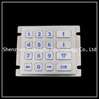 China Atm Vandal Proof Keyboard , 4 * 4 Matrix Type Cash Machine Number Pad on sale