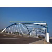 Wholesale Q235 Q345 Frame Multi Trusses Prefab Steel Frame Bridge With Drawing from china suppliers