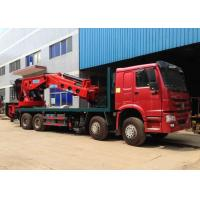 Wholesale Hydraulic Truck Mounted Crane 25 Tons XCMG , Hydraulic Knuckle Boom Crane from china suppliers