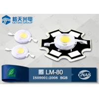 Wholesale Wall Wash Lamp High Power White LED 1W 150LM Bridgelux 45mil 6000K - 6500K from china suppliers