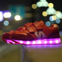 Wholesale high quality flash led lights for shoes sneakers have sample, children led kids shoes sport brand name for boys girls from china suppliers