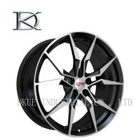 Quality High Profile Forged Racing Alloy Wheels 20 Inch / Black Chrome Wheels For Vehicle for sale