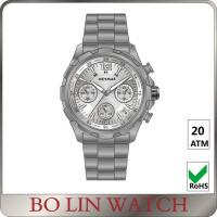 Wholesale Swiss Thin 44 - 46MM Titanium Automatic Watches Musculine IP Plating from china suppliers