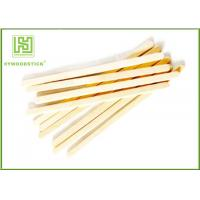 Quality Flat Edge Natural Wood Sticks 100% Birchwood Sticks For Ice Cream for sale