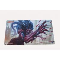 Buy cheap Magic Skidproof Rubber Play Mat , Environmental OEM Card Game Mat from wholesalers