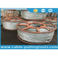 Wholesale Hexagon 12 Strands Galvanized Anti Twist Wire Rope Transmission Steel Pilot Rope from china suppliers
