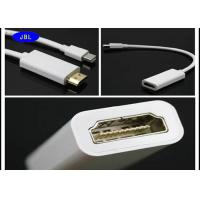 Wholesale Twisted Pair Mini Displayport To Hdmi Adapter Cable Bare Copper Conductor from china suppliers