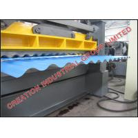 Wholesale Corrugated Iron Roof Panel Roll Forming Machine With Auto Cutter for 24 26 28 30 Gauge Steel Coils from china suppliers