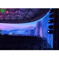 Wholesale Indoor P6 Curve Curtain LED Display WIFI 3G Control with 5 years Warranty from china suppliers