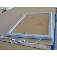 Wholesale Double Sided Aluminum Led Light Box 28mm With Snap Poster Frame from china suppliers