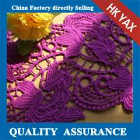 Wholesale High quality environmental Elegant lace for purple lace fabric,purple embroidery lace fabric,purple lace fabric from china suppliers