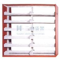 Quality Metallic 7 Layers High Steel Double - Sided Custom Made Book Shelves With Factory Price for sale