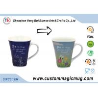 Wholesale Ceramic Restaurant Personalized  Magic Mugs DIY Heat Reactive from china suppliers