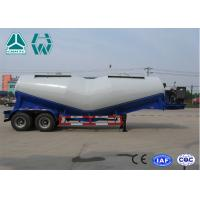 Wholesale 27Cbm 2 Axles V Shape Bulk Cement Tank Semi Trailer With Air Compressor from china suppliers