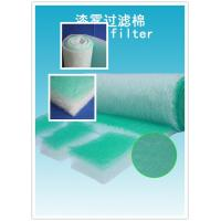 Wholesale High Arrestance G4 Fiberglass Air Filters 50mm For Absorbing The Soot from china suppliers