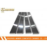 Buy cheap Cemented Tungsten Carbide Strips / Flat Bar With Fine Grain Alloy For Machining Stainless Steel from wholesalers