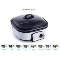 Glass Cover Electric Multi Cooker 8 IN 1 Copper Wire PP Shell Base Lightweight