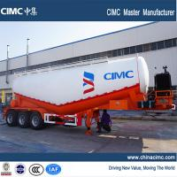 Wholesale tri-axle 42 tons - 45 tons Cement Semi Trailer for Vietnam Market from china suppliers