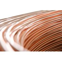 Wholesale Steel Copper Coated Tube , Welded Bundy Pipe 6.35mm X 0.65 mm from china suppliers