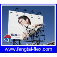 China Lonas Glossy/White 440g(13oz) 500D*500D 9*9 Frontlit Flex Banner on sale