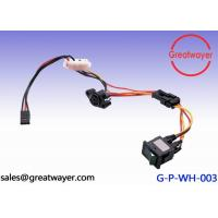 Wholesale ISO Wiring Harness 3 Pin Connector  UL 1007 22AWG Switch ,  Electrical Cable Terminals from china suppliers