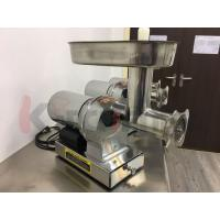 Wholesale 304 Stainless Steel Electric Meat Grinder with 3 Grinding Plates / Sausage Tubes from china suppliers