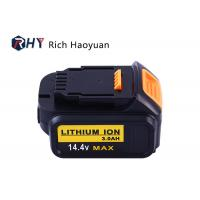 Wholesale 14.4V 3.0Ah XR Slide Pack Power Tool Lithium Ion Battery DeWalt DCB140 DCB141 DCB140-XJ DCB141-XJ DCB142-XJ from china suppliers
