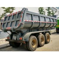Wholesale Multi Sized Load Trail Dump Utility Trailer For Base Rock Topsoil Asphalt , Truck Dump Trailers from china suppliers