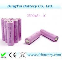 Wholesale 18650 2500mAh li ion battery from china suppliers
