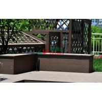 Wholesale Recyclable 100% Wood Plastic Composite Lumber , Composite Timber Decking Corrosion Resistance from china suppliers