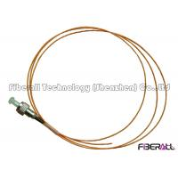 Wholesale 0.9mm Simplex Fiber Optic Pigtail Cables With Hytrel Jacket And LC SC ST FC Connector from china suppliers
