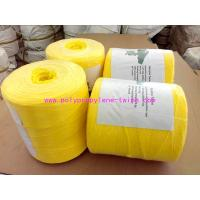 Wholesale Yellow Fibrillated Yarn Polypropylene Baling Twine Free Sample 1% - 2% UV from china suppliers