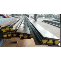 Wholesale A75 Type Safety Steel Crane Rail For Overhead Crane , 75 mm Head Width 45 mm Web Thick from china suppliers