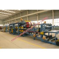 Wholesale Colored Steel Sheet / EPS Sandwich Panel Production Line With PLC Control from china suppliers