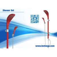 Wholesale Wall Mounted Luxury Rain Shower Head Red Shower Bathroom Columns from china suppliers
