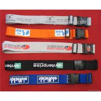 Wholesale security travel belt strap for suitcase, heavy duty belt lanyards, from china suppliers