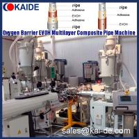 Wholesale 3  or 5 layer PER-T EVOH Pipe extrusion machine/production line/equipment/plant/extruder/extrusion line from china suppliers