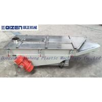 Wholesale Customized Single Deck Vibrating Screen , Raw Material Screening Equipment from china suppliers