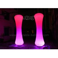 Wholesale Waterproof Inflatable Lantern Night Decoration Inflatable Lighting Column from china suppliers