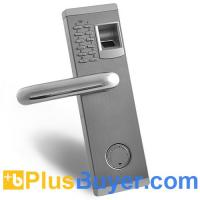 Wholesale Aegis - Biometric Fingerprint Door Lock with Deadbolt (Fireproof, Left Handed) from china suppliers