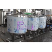 Wholesale CIP Cleaning System Soft Drink Processing Line Semi Auto With 500L Tank from china suppliers