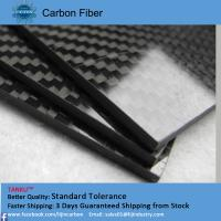 Wholesale 5.0mm 400mm*500mm high modulus carbon fiber sheeting black color from china suppliers