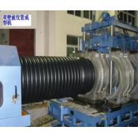 Buy cheap Automatic PE / PVC Double Wall Corrugated Pipe extrusion line Qingdao suppiler from wholesalers