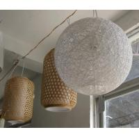 Wholesale 2016High Quality Bamboo Classical Round Lampshade, Unique Lampshade,lamps and lanterns from china suppliers