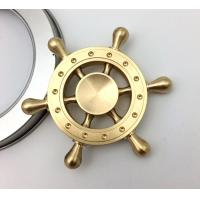 Quality Copper Old Captain Wheel Hand Spinner Toy For Realese Anxiety / Ordom for sale