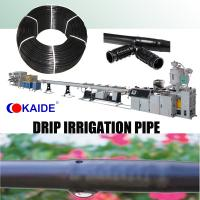 Quality Inline Drip Irrigation Pipe Machine 20m/min for sale